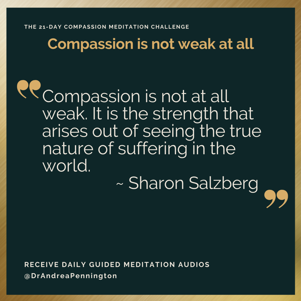 Day 2 Sharon Salzberg Quote
