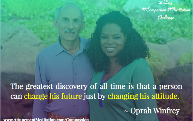 Day 4:  Oprah Winfrey – Change your attitude & change your future